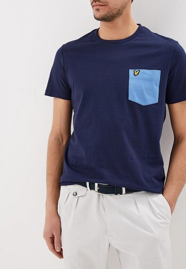 Футболка Lyle & Scott Lyle & Scott LY001EMEAVM7 футболка lyle