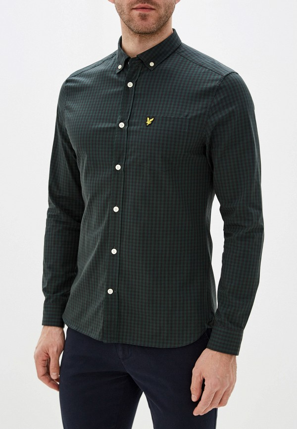 Рубашка Lyle & Scott Lyle & Scott LY001EMGRSI3 turtleneck scott