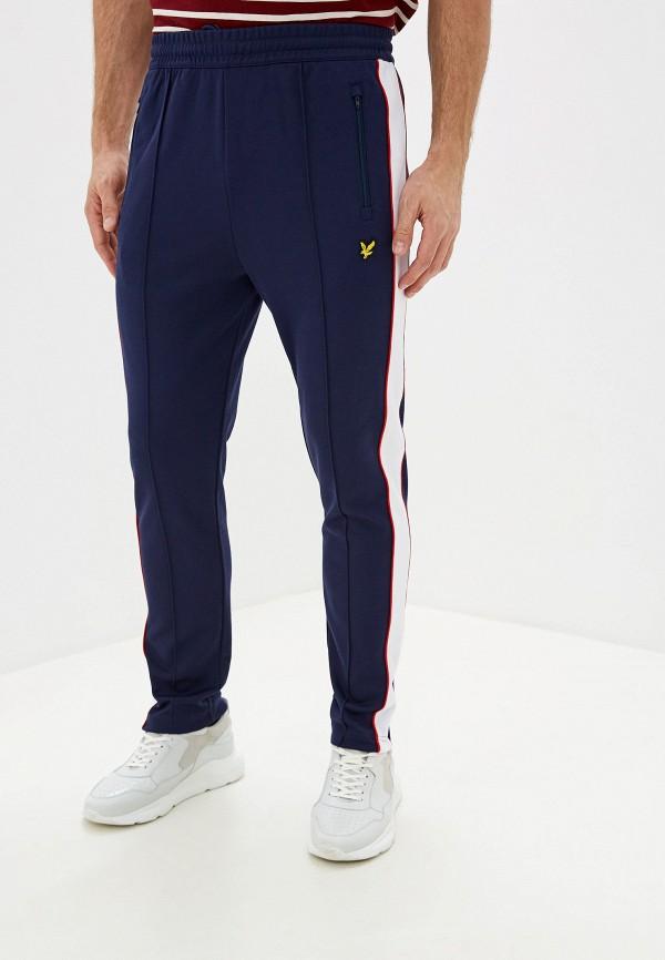 мужские спортивные брюки lyle & scott, синие