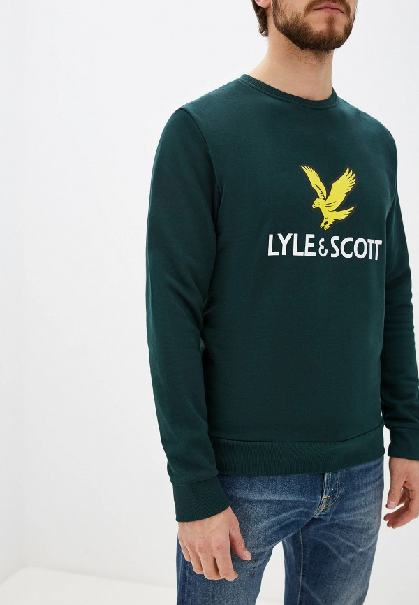 Свитшот Lyle & Scott Lyle & Scott LY001EMGRSJ5 turtleneck scott
