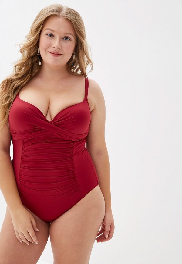 женский купальник lypic, бордовый