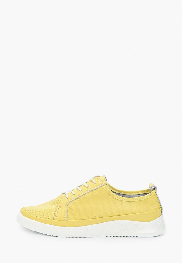 женские кеды m25, желтые