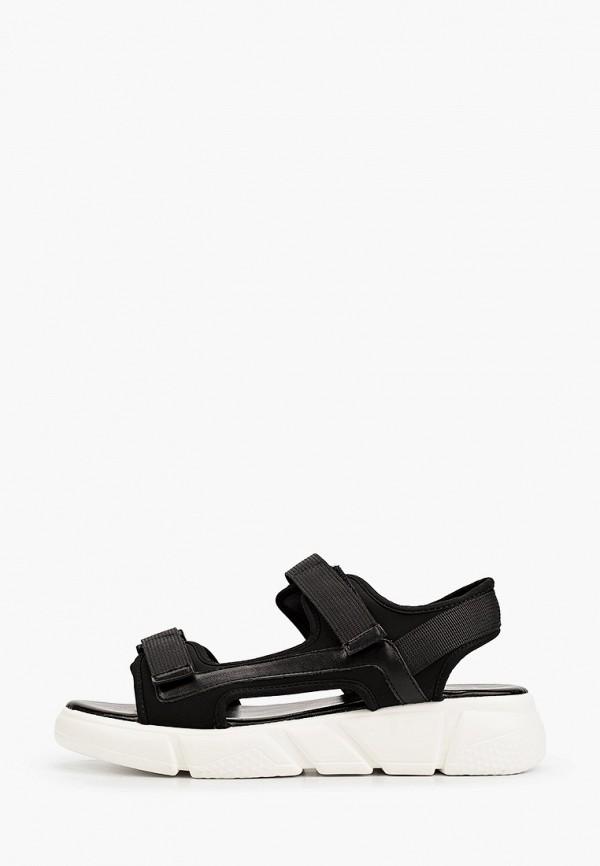 женские сандалии m25, черные