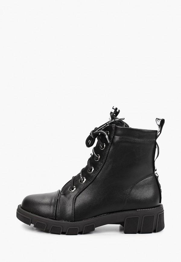 женские ботинки m25, черные
