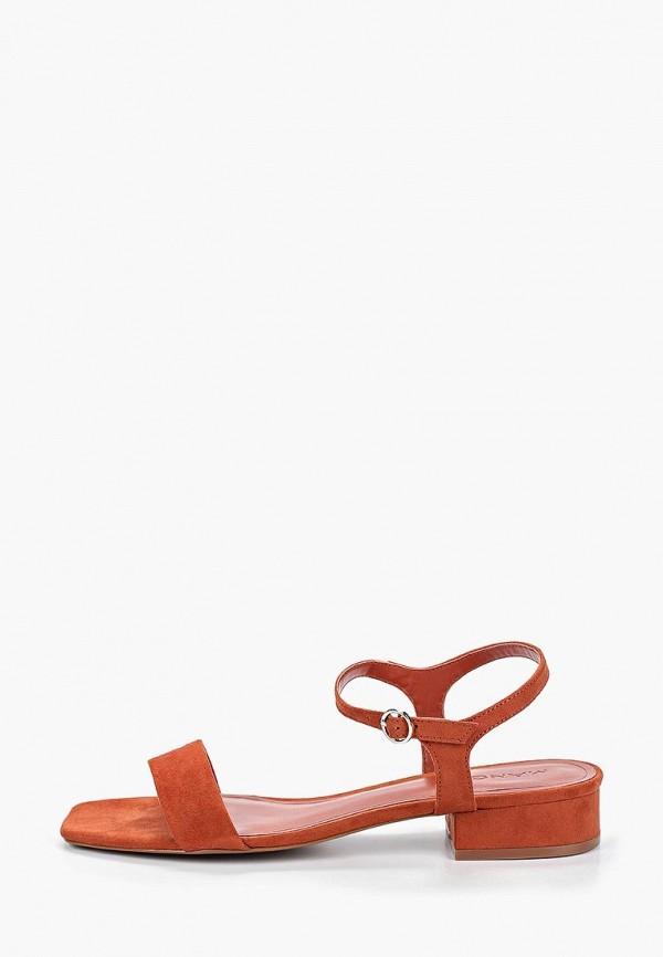 Купить Сандалии Mango, - LETO, ma002aweqrv0, оранжевый, Весна-лето 2019
