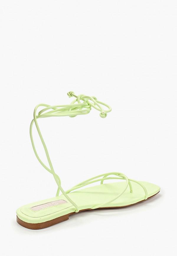 Фото 3 - женские сандали Mango зеленого цвета