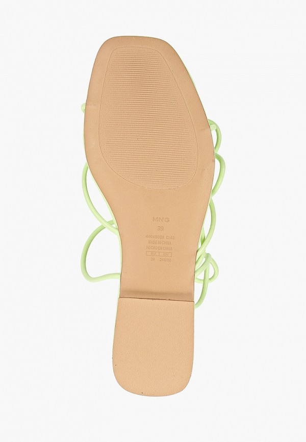 Фото 5 - женские сандали Mango зеленого цвета