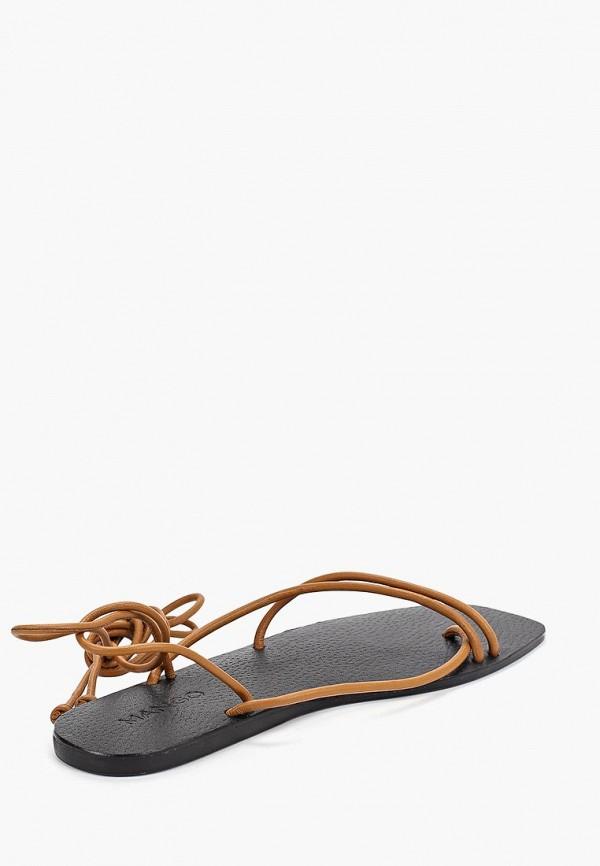 Фото 3 - женские сандали Mango коричневого цвета
