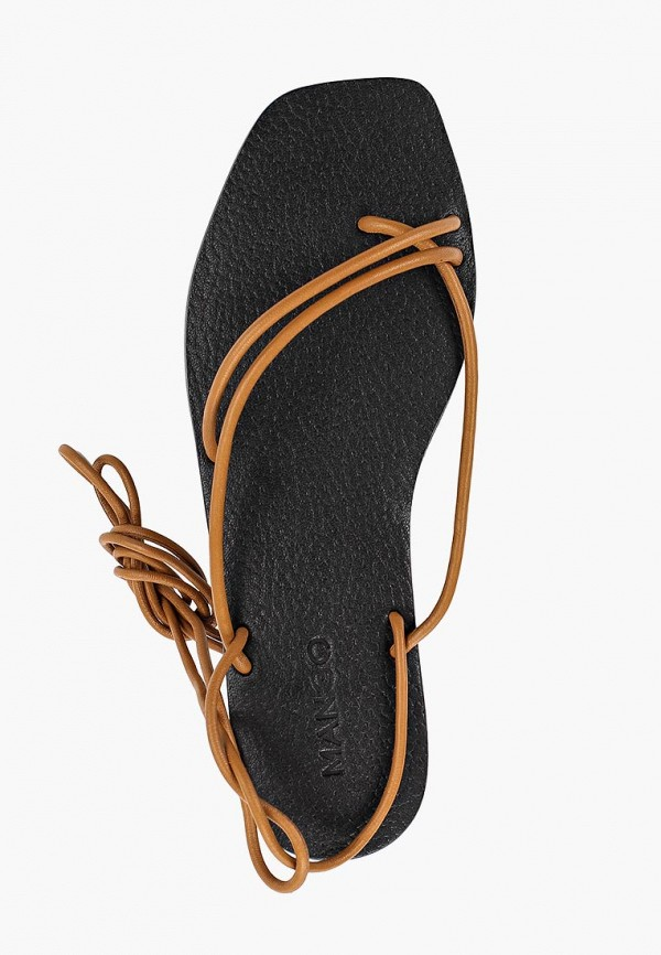 Фото 4 - женские сандали Mango коричневого цвета