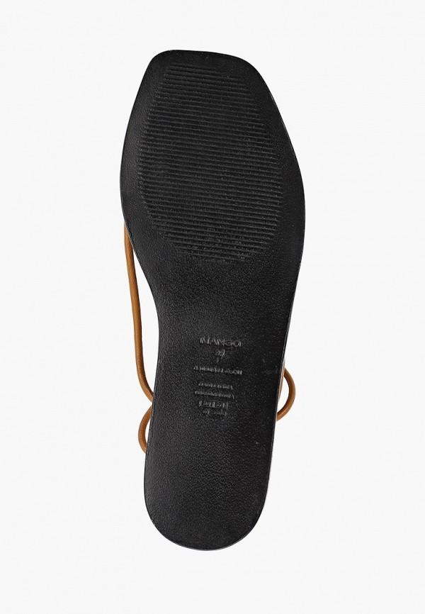 Фото 5 - женские сандали Mango коричневого цвета