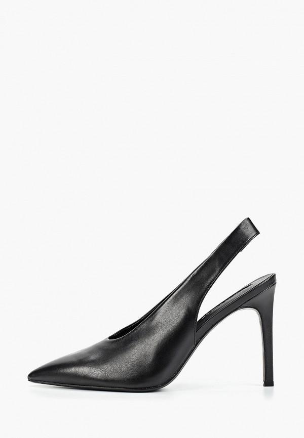 Фото - Женские туфли Mango черного цвета