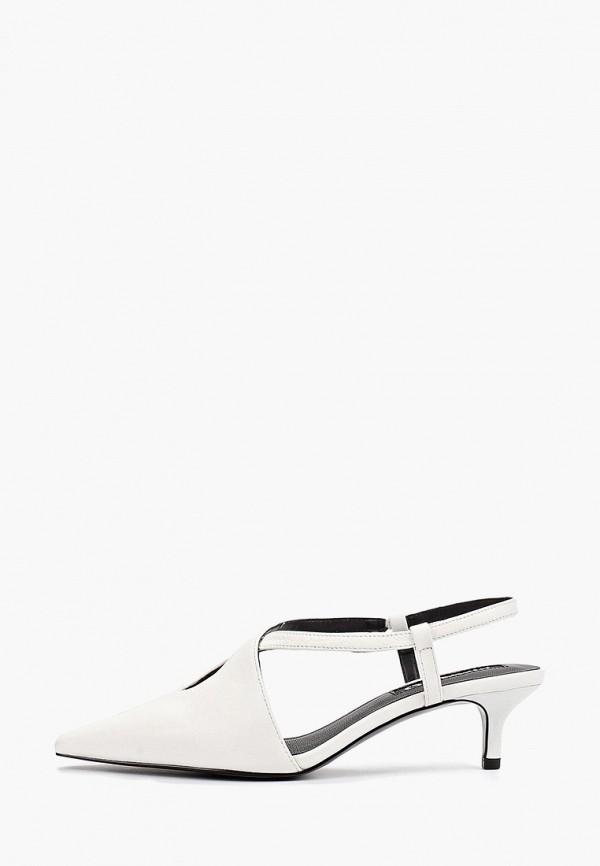 Фото - женские туфли Mango белого цвета