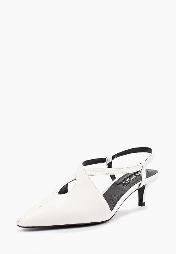 Фото 2 - женские туфли Mango белого цвета