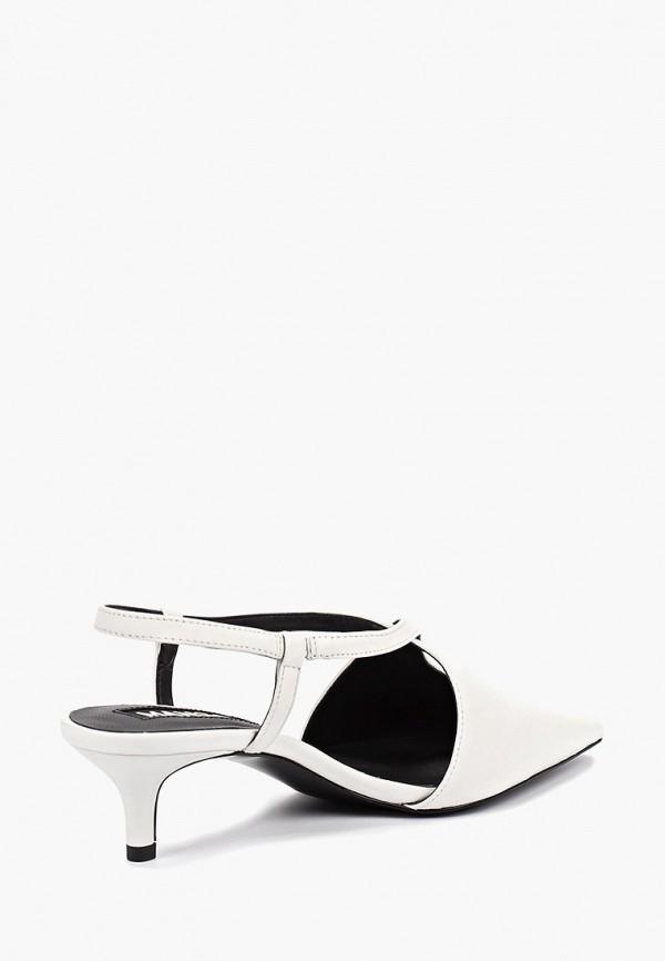 Фото 3 - женские туфли Mango белого цвета