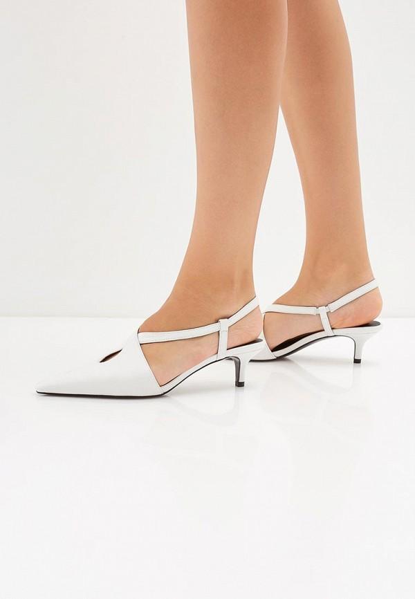 Фото 6 - женские туфли Mango белого цвета