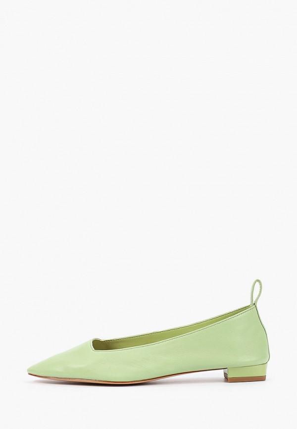 женские туфли mango, зеленые