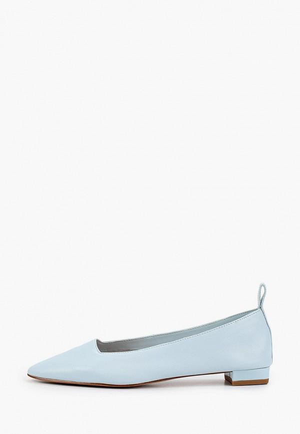женские туфли mango, голубые