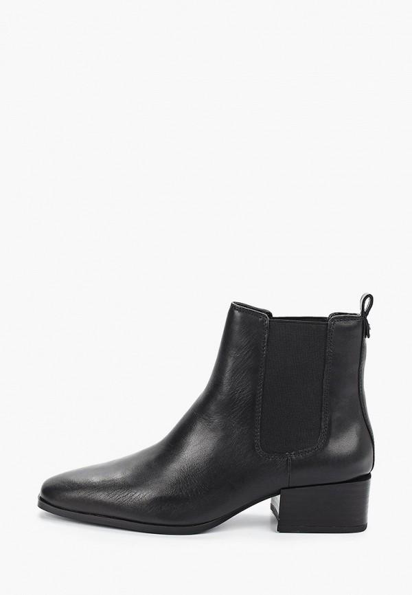 женские ботинки mango, черные