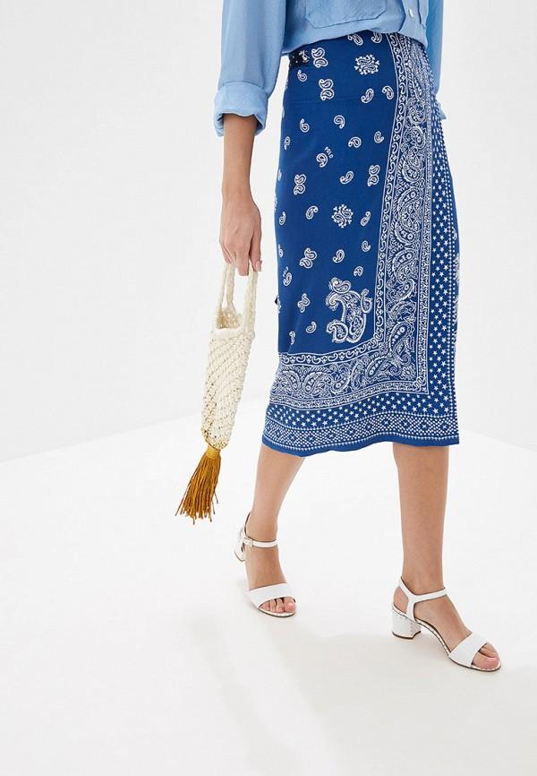 Фото 4 - женскую сумку Mango бежевого цвета