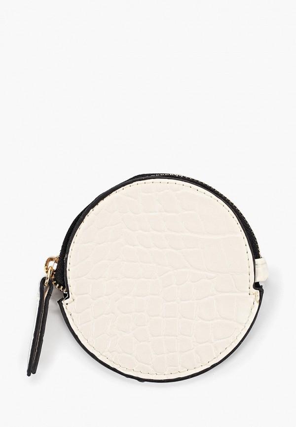 Купить женский кошелек или портмоне Mango белого цвета