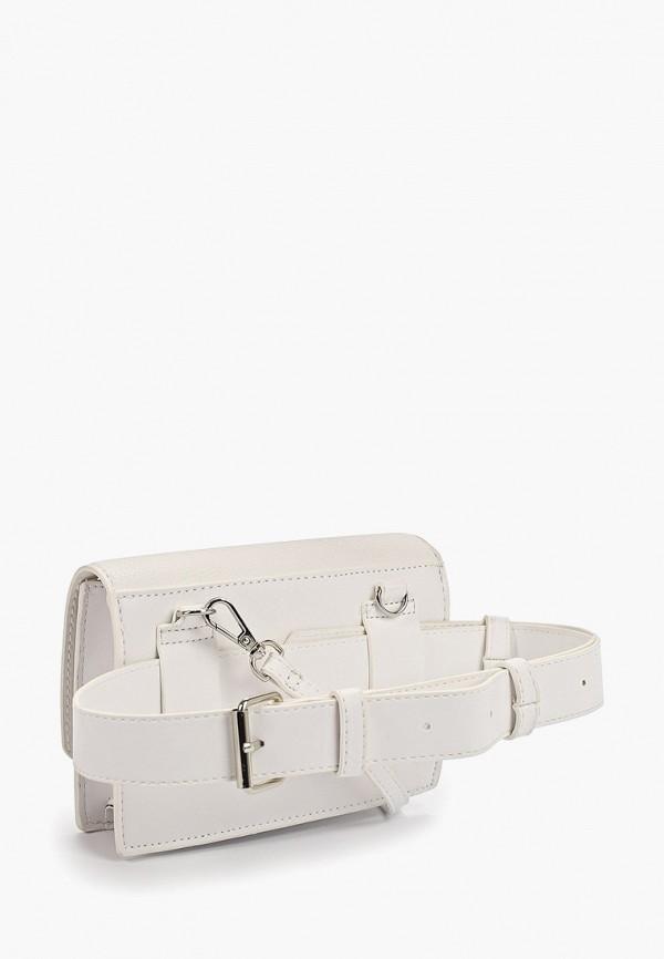 Фото 2 - женскую сумку Mango белого цвета