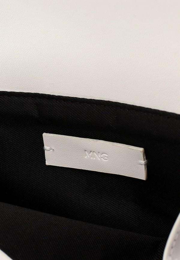 Фото 3 - женскую сумку Mango белого цвета