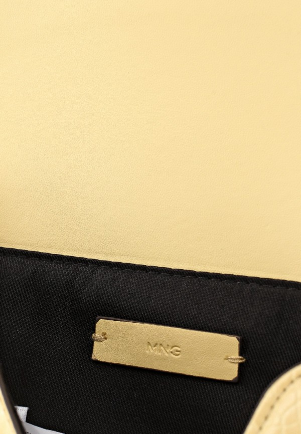 Фото 3 - женскую сумку Mango желтого цвета