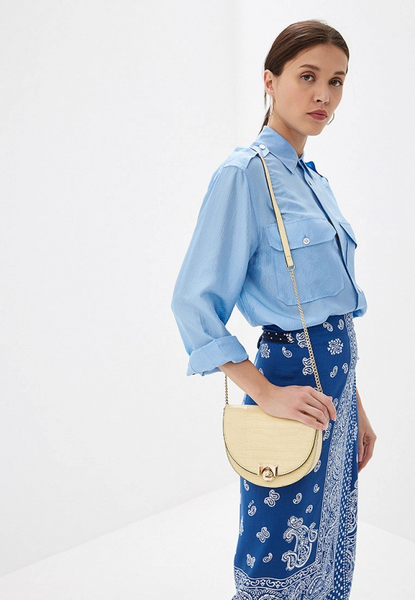 Фото 4 - женскую сумку Mango желтого цвета