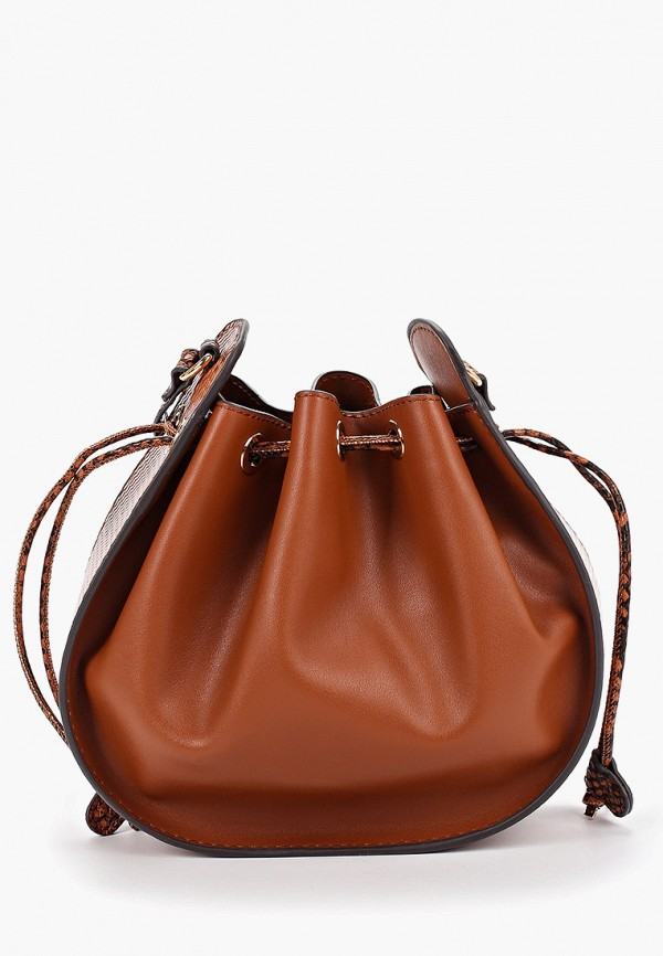 Купить женскую сумку Mango коричневого цвета