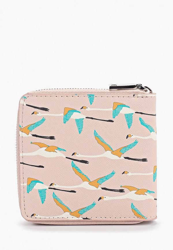 Фото 2 - женский кошелек или портмоне Mango розового цвета