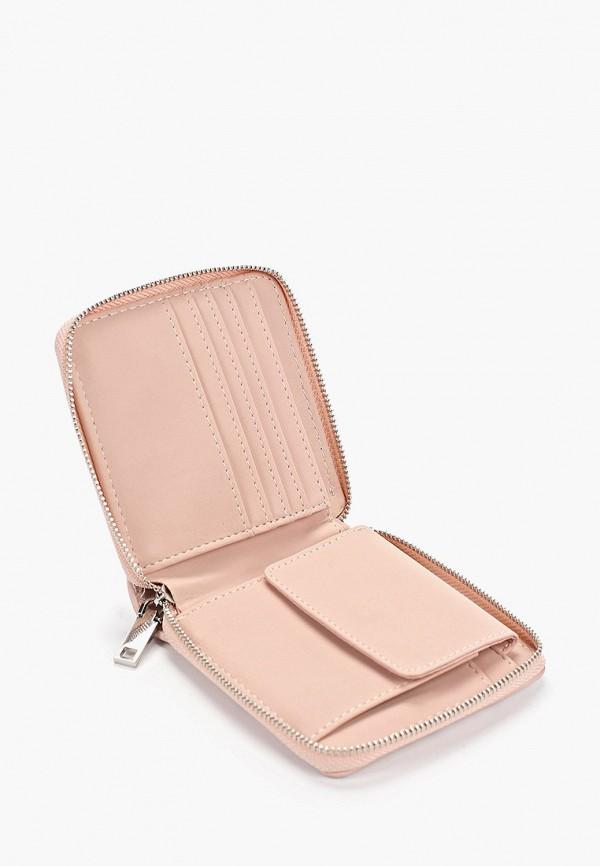 Фото 3 - женский кошелек или портмоне Mango розового цвета