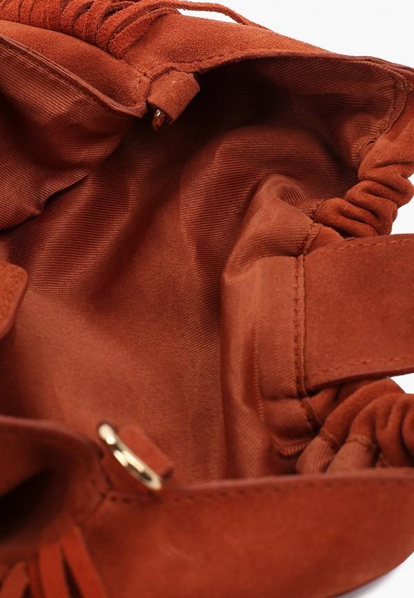 Фото 3 - женскую сумку Mango оранжевого цвета
