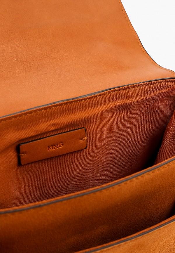 Фото 3 - женскую сумку Mango коричневого цвета