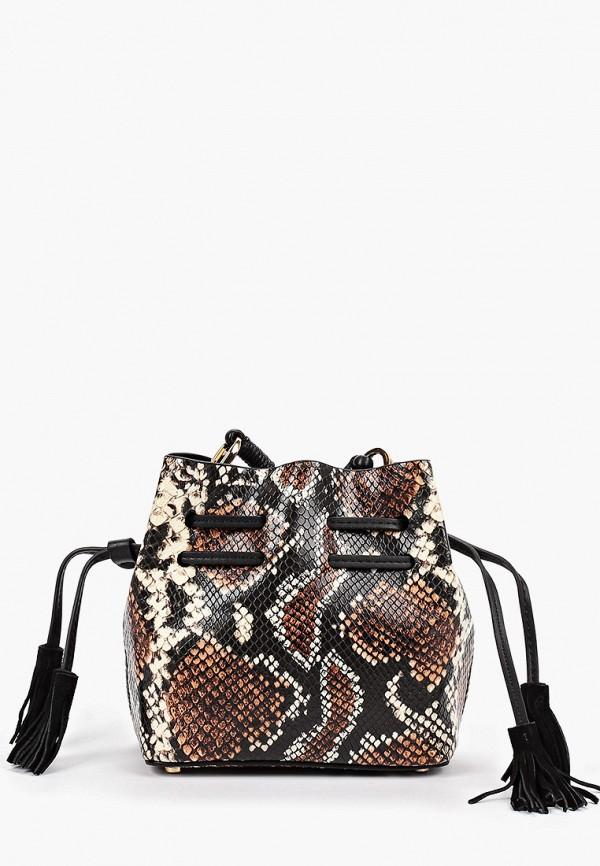 Фото - женскую сумку Mango коричневого цвета