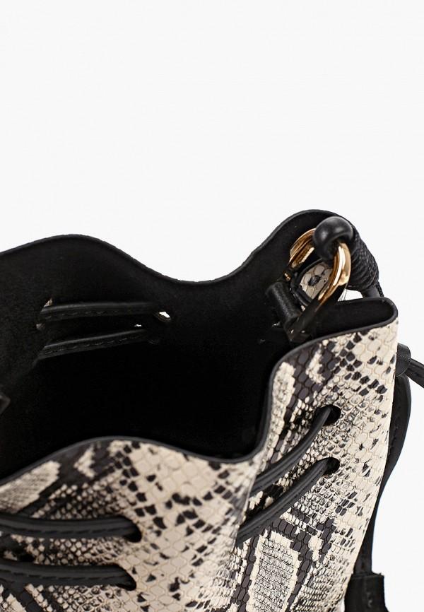 Фото 3 - женскую сумку Mango серого цвета