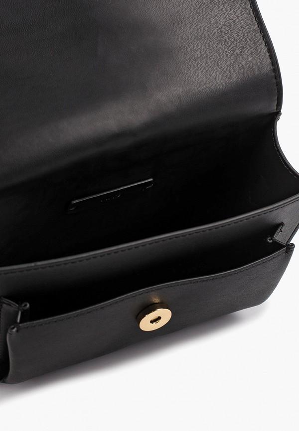 Фото 3 - женскую сумку Mango черного цвета