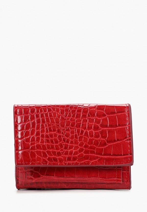 женский кошелёк mango, красный