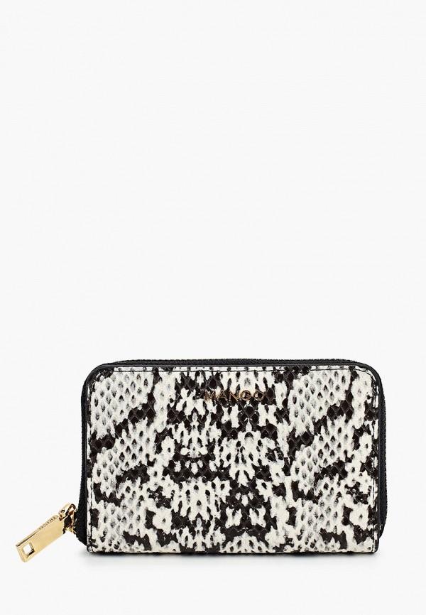 женский кошелёк mango, серый