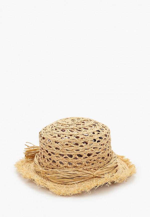 женская шляпа mango, бежевая