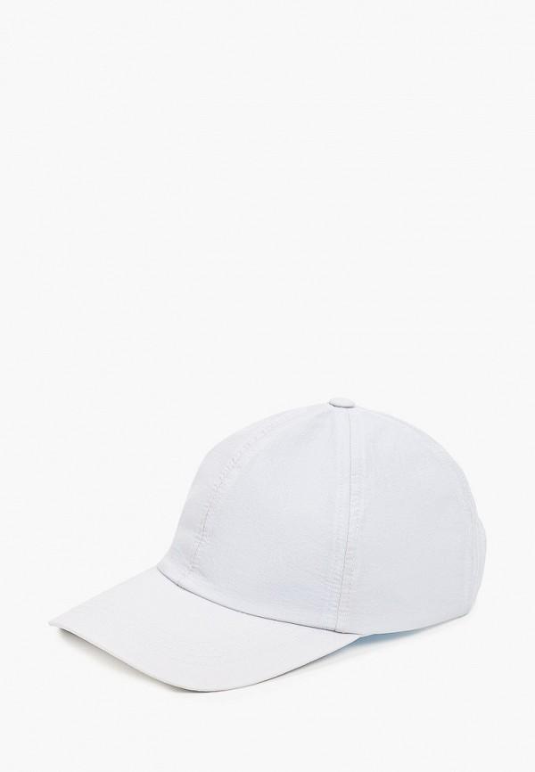 женская шапка mango, голубая