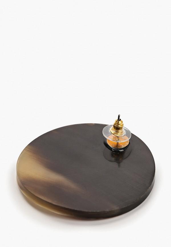 Фото 2 - женские серьги, клипсы или пирсинг Mango серого цвета