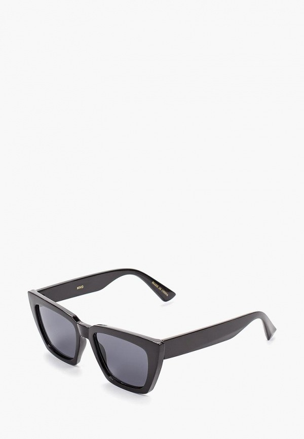 женские солнцезащитные очки mango, черные