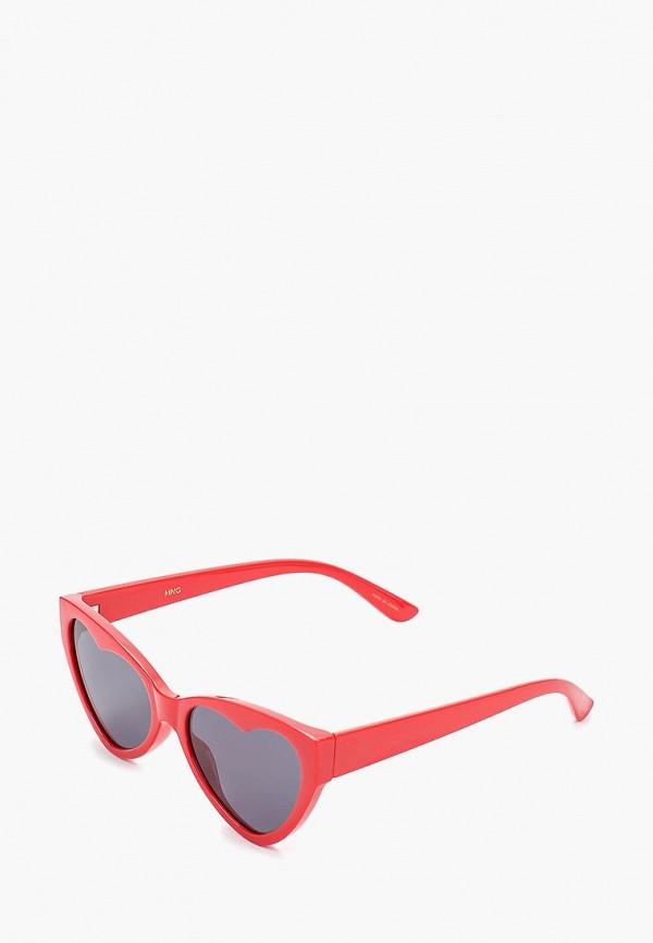 Купить Очки солнцезащитные Mango красного цвета