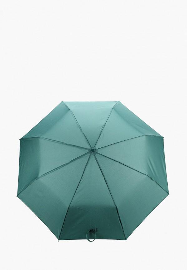 женский складные зонт mango, зеленый
