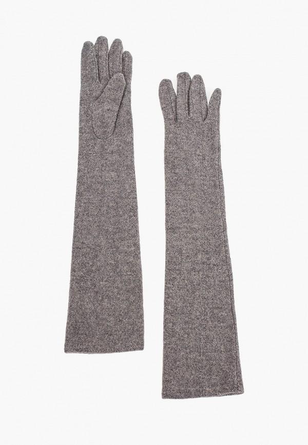 женские перчатки mango, серые