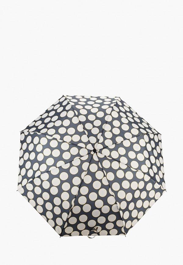 женский складные зонт mango, черный