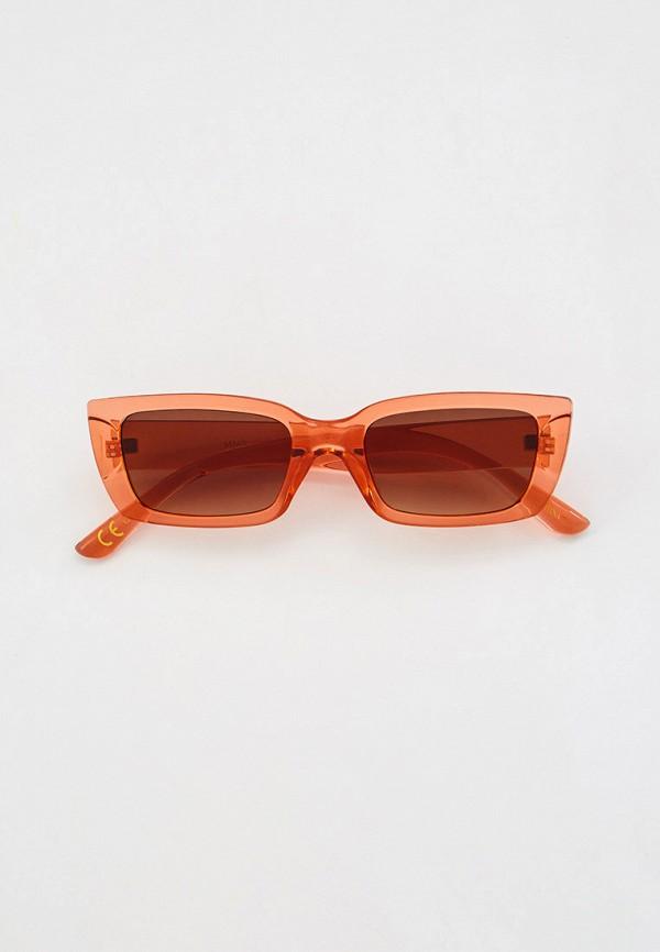 Очки солнцезащитные Mango Mango 87045695 коралловый фото