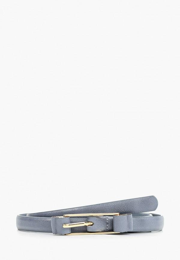 женский ремень mango, серый