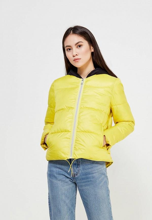 Купить Куртка утепленная Mango, - BLANDITA, MA002EWAFGC2, желтый, Весна-лето 2018
