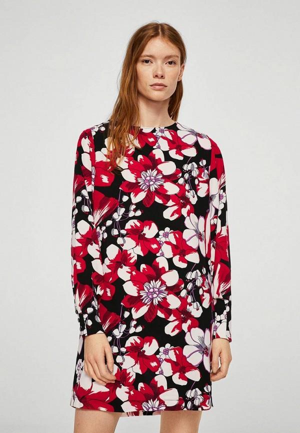 Купить Платье Mango, - MARTA, MA002EWAIUM9, разноцветный, Весна-лето 2018